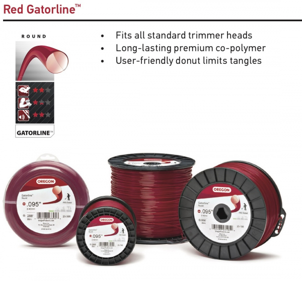 Oregon® Gatorline Red Round