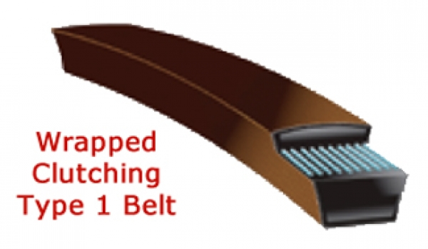 Type 1 Wrapped Clutching Belt