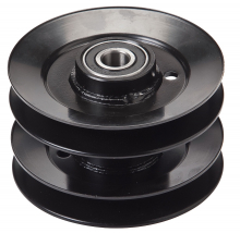 Oregon® 44-103 double pulley assembly with bearings