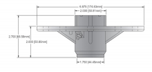 Oregon® 82-243 Spindle Assembly drawing