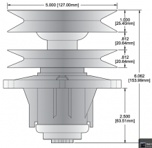 Oregon® 82-511 spindle assembly drawing